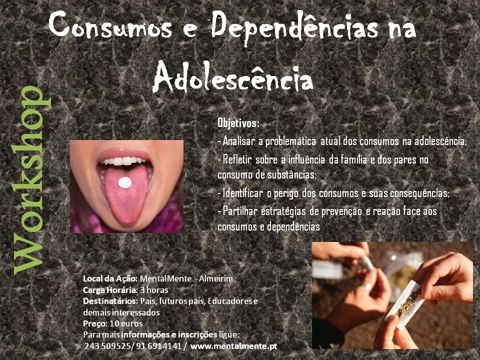 12Consumos e Dependências na Adolescência