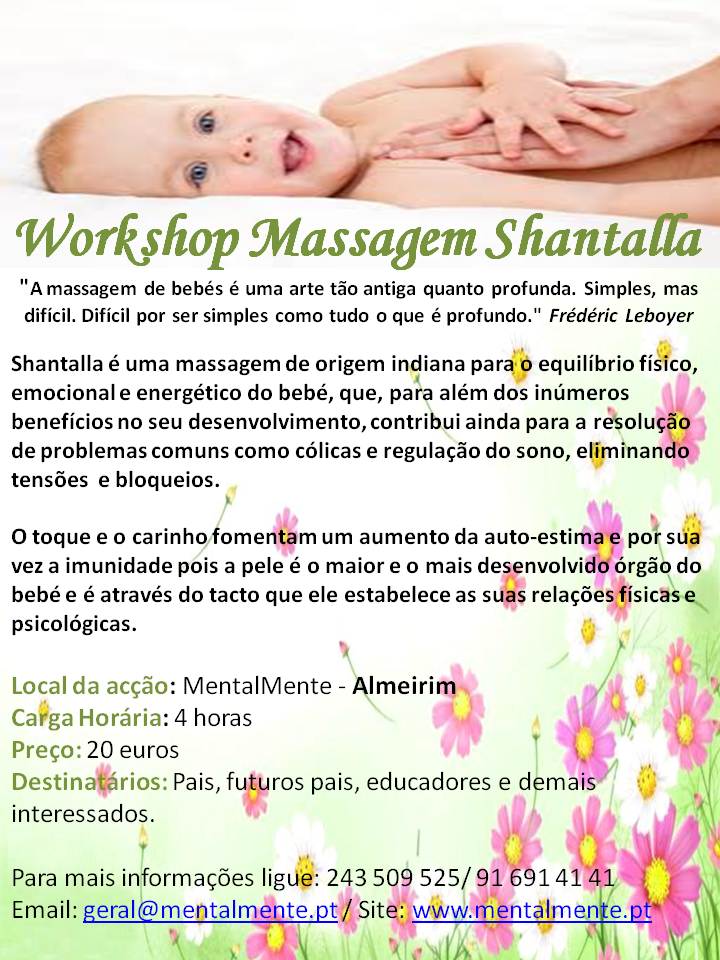 3Worshop Massagem Shantalla