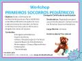 4Workshop Primeiros Socorros Pediátricos